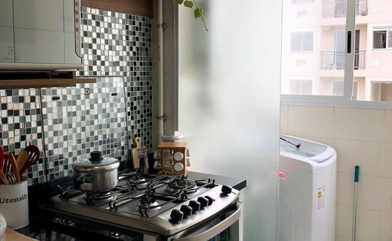 Tutoriels et idées pour séparer la cuisine de la buanderie