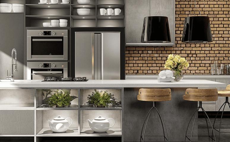 40 idées pour réaliser votre rêve d'avoir une cuisine de style industriel